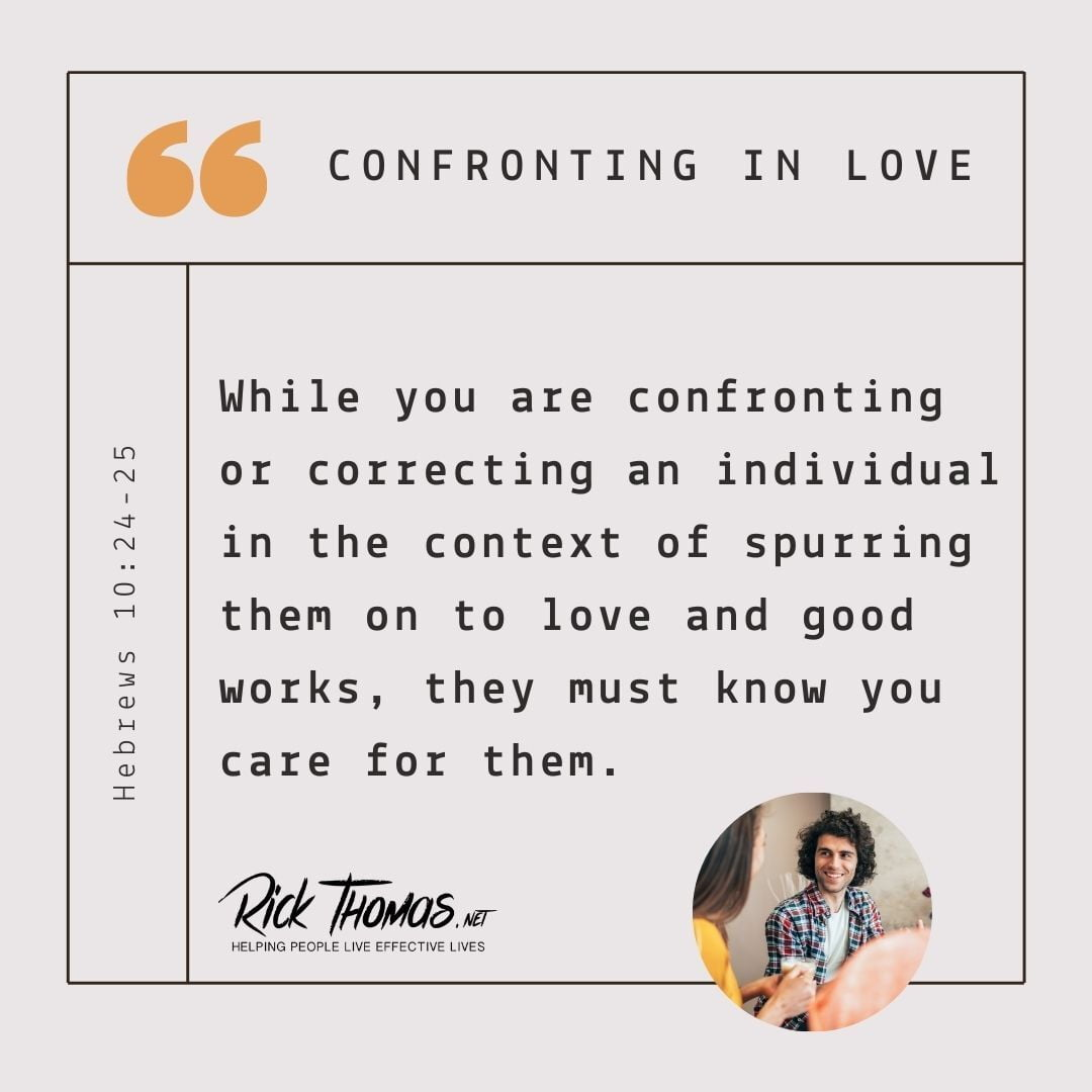 Confronting In Love