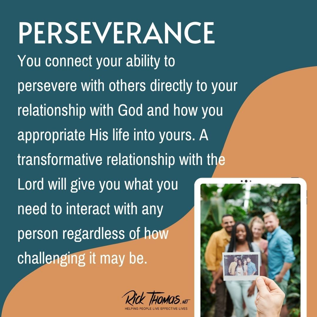 Persevering With Others