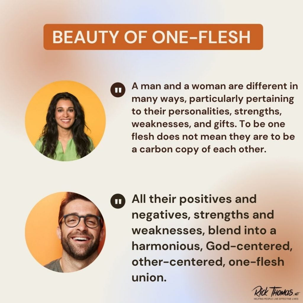 The Beauty of One-Flesh